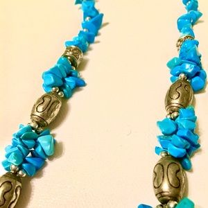 Turquoise Necklace from Morocco